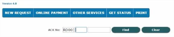 Domicile Certificate Status