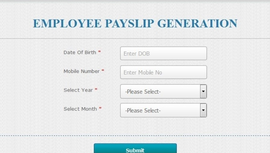 IOSMS Payslip Generation