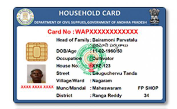apply new ration card