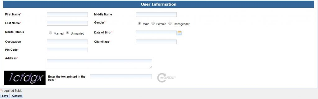 SSDG EForms Application User Information