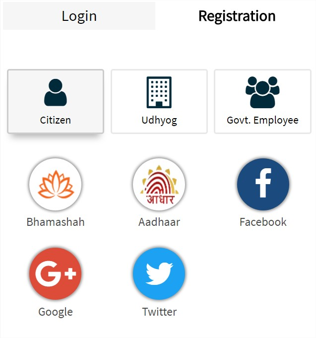 SSO Rajasthan Citizen Registration