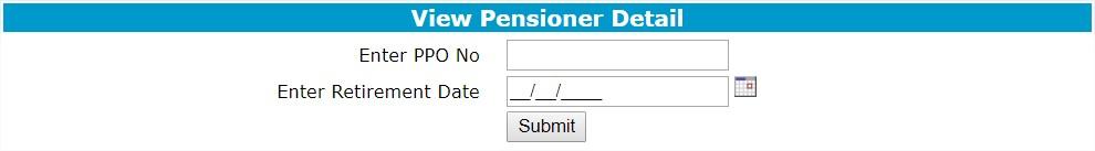 jkcpis pensioner detail